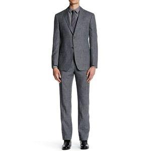 Men's John Varvatos Hampton 2 Piece Suit Gray Wool